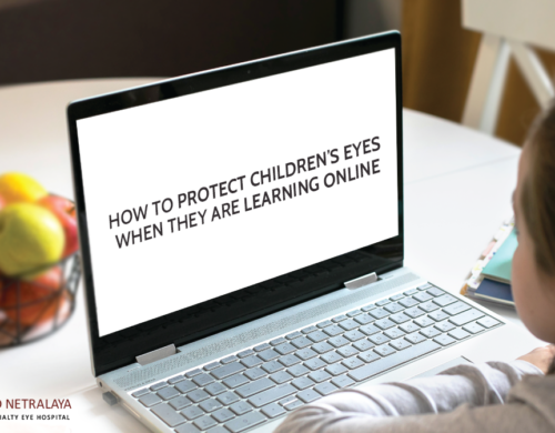 How To Protect Children's Eyes When They Are Learning Online