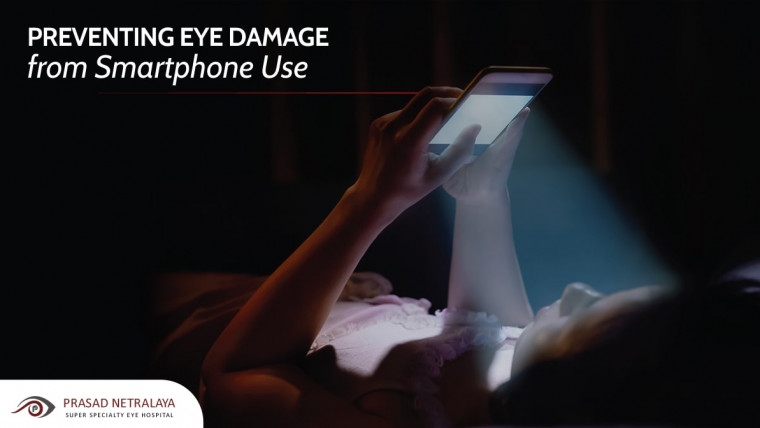 How to Prevent Eye Damage from Cellphone Use