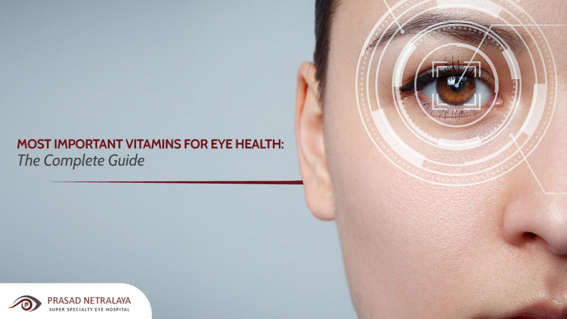 Can Eye Vitamins Improve Vision? Most Important Vitamins for Eye Health